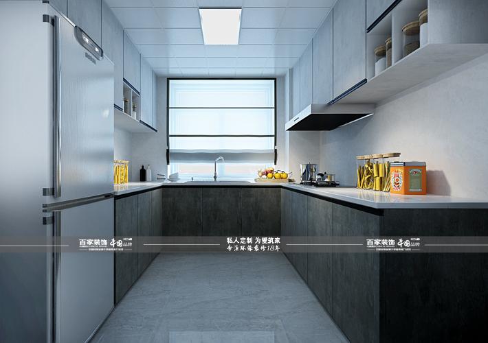 三居 奥园国际 后现代风格 厨房图片来自百家设计小刘在奥园国际125平后现代风的分享