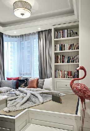 书房图片来自家装大管家在135平端庄优雅3居 休闲舒适氛围的分享