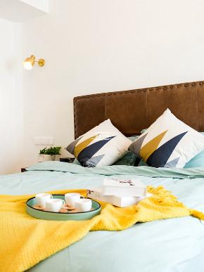 现代北欧 白领 装修 卧室图片来自重庆兄弟装饰黄妃在重庆融侨半岛装修,样板间装修的分享