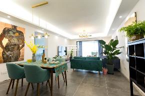现代北欧 白领 装修 客厅图片来自重庆兄弟装饰黄妃在重庆融侨半岛装修,样板间装修的分享