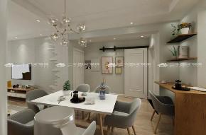 简欧 简约 欧式 混搭 白领 温馨 小资 90后 收纳 餐厅图片来自昆明二十四城装饰集团在盛唐城  简欧的分享