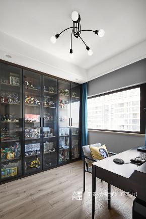 书房图片来自大墅尚品-由伟壮设计在125㎡盐系北欧丨爱很简单的分享