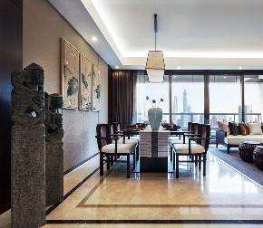 旧房改造 中式 餐厅图片来自北京今朝装饰在新中式案例的分享