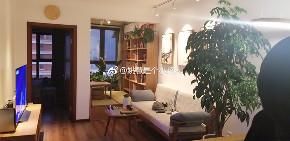 日式风格 旧房改造 小资 二居 客厅图片来自北京今朝装饰在写意生活的分享