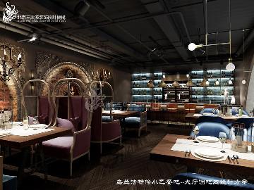 餐厅设计-呼和浩特餐吧红城