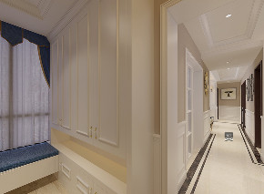 欧式 三居 玄关图片来自黑色空心菜在精装房改造的分享