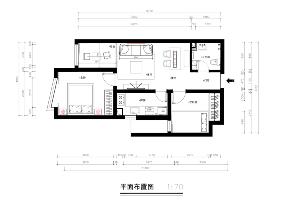 日式风格 旧房改造 小资 二居 户型图图片来自北京今朝装饰在写意生活的分享