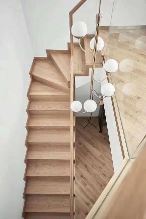 简约 三居 楼梯图片来自乐粉_20181003112538352在贵阳龙头装饰 北欧格调的分享