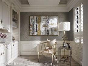 装修设计 装修完成 精品宅 新古典 书房图片来自幸福空间在93平,复古风巴黎时尚 精品宅的分享
