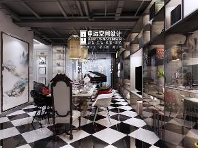 欧式 简约 别墅 简欧 餐厅图片来自申远空间设计北京分公司在简约欧式-财富公馆的分享