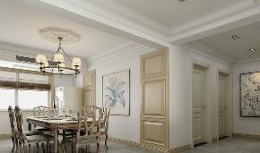 欧式 三居 简约 新房装修 餐厅图片来自乐粉_20181003112538352在贵阳小石城欧式风格装修案例的分享