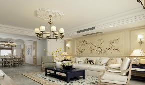 欧式 三居 简约 新房装修 客厅图片来自乐粉_20181003112538352在贵阳小石城欧式风格装修案例的分享