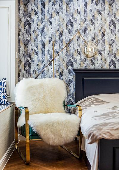 卧室图片来自家装大管家在儒雅端庄 98平新中式时尚3居室的分享