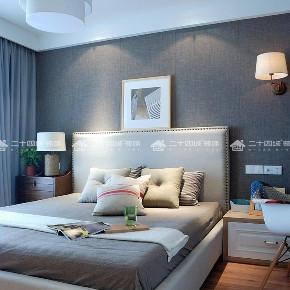 现代简约 现代 简约 小资 温馨 收纳 旧房改造 白领 混搭 卧室图片来自昆明二十四城装饰集团在昆明湖 现代简约的分享