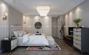 现代简约 时尚 大气 高富帅 白富美 温馨 白领 小资 混搭 卧室图片来自昆明二十四城装饰集团在蓝光·林肯公园  现代简约的分享