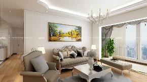 欧式 简约 简欧 白领 收纳 旧房改造 小资 90后 婚房 客厅图片来自昆明二十四城装饰集团在国福现代城茉莉苑  简欧的分享