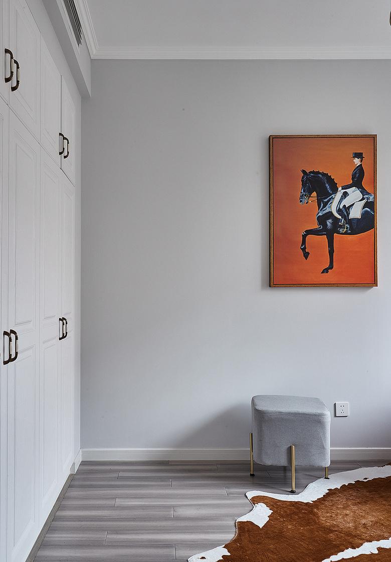 书房图片来自家装大管家在向往的生活 89平美式轻奢紧凑居的分享