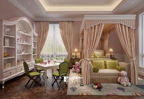 别墅 新古典 欧式 申远 别墅装修 儿童房图片来自申远空间设计北京分公司在优山美地-新古典风格的分享