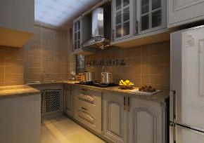 二居 金地铂悦 美式风格 厨房图片来自百家设计小刘在金地铂悦90平美式风半包4万的分享