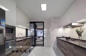 厨房图片来自沈阳百家装饰小姜在格林玫瑰湾170平现代港式风格的分享