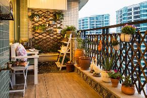 田园 小资 旧房改造 收纳 一居 阳台图片来自北京今朝装饰在地中海西欧文艺的分享