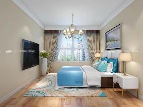 地中海 地中海风格 浪漫 文艺 小资 舒适 温馨 清新 未来家 卧室图片来自昆明二十四城装饰集团在中航玺樾  地中海风格的分享