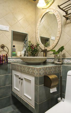 田园 小资 旧房改造 收纳 一居 卫生间图片来自北京今朝装饰在地中海西欧文艺的分享