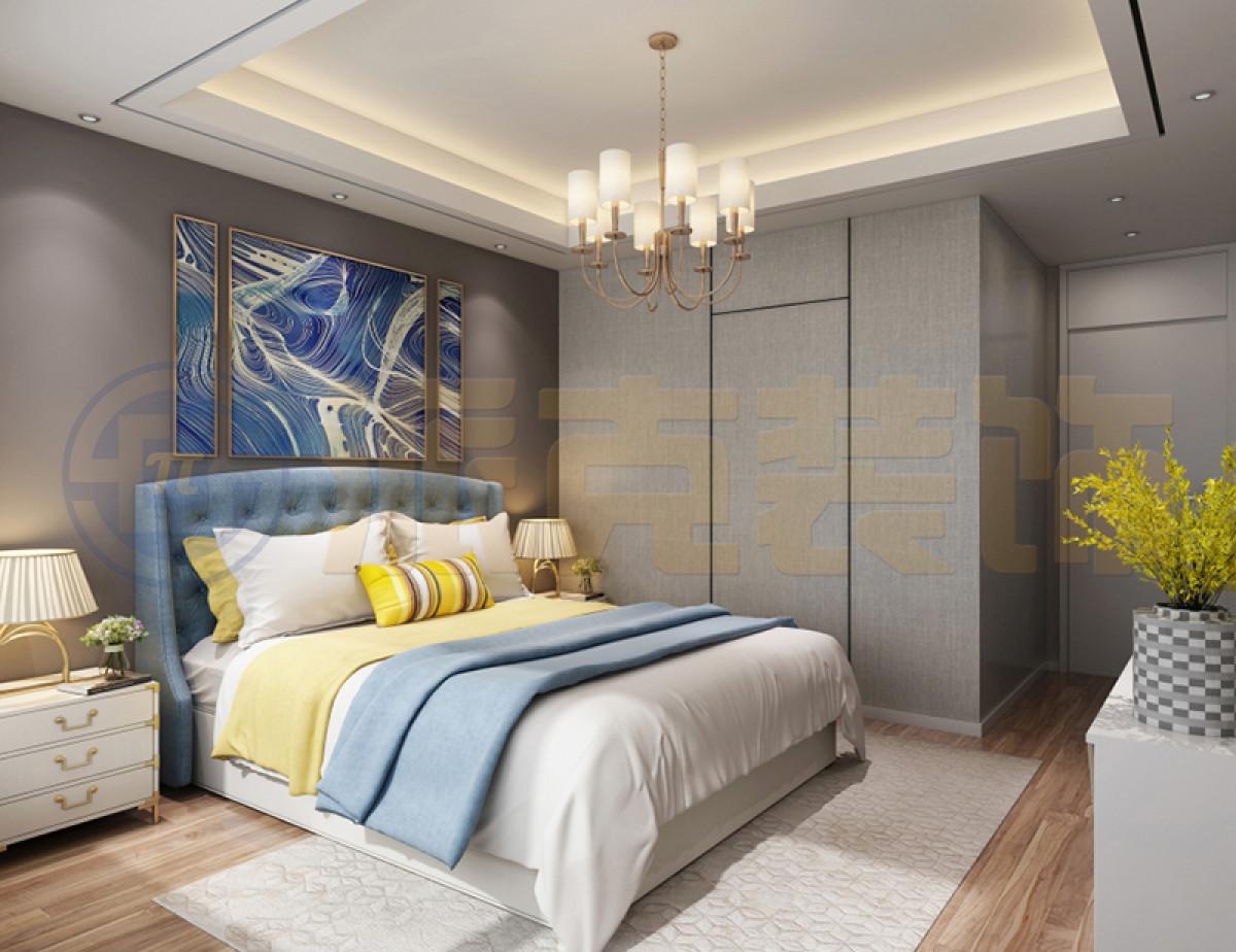 大连派克装饰-大连市龙湖星海彼岸210平米现代简约风格家装