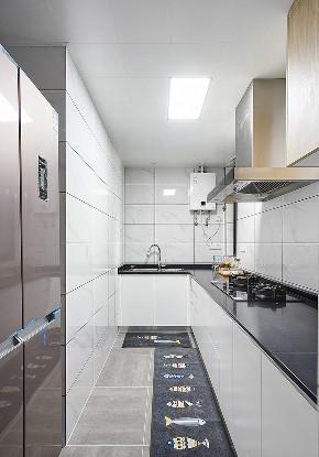 厨房图片来自家装大管家在化简为零 100平北欧时尚雅致3居的分享