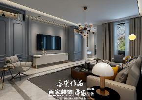三居 中铁香湖 北欧风格 客厅图片来自百家设计小刘在中铁香湖147平北欧风格的分享