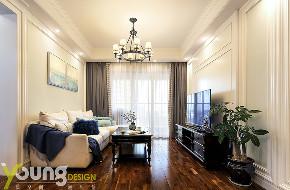 三居 美式 客厅图片来自漾设计在Young新作   《蕴情》现代美式的分享