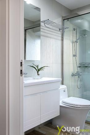 三居 美式 卫生间图片来自漾设计在Young新作 | 《蕴情》现代美式的分享
