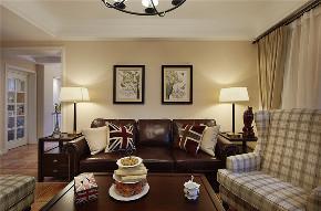 美式 二居 收纳 旧房改造 80后 客厅图片来自北京今朝装饰在重重美式的分享