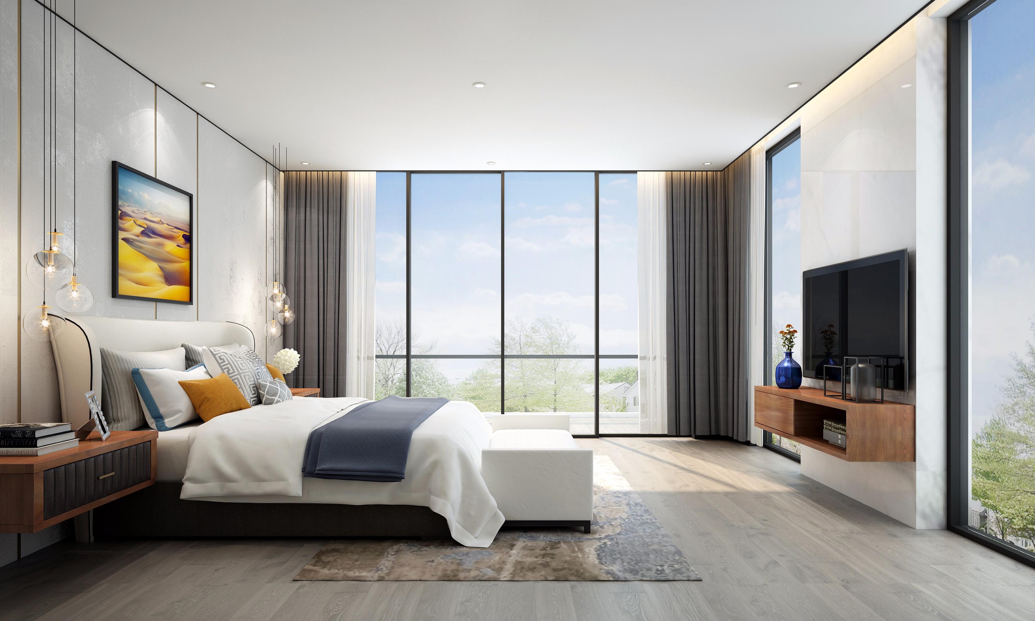 卧室图片来自朱平波在长桥郡—留白的分享