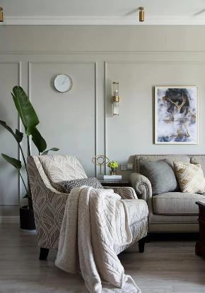 客厅图片来自鹏友百年装饰在简美刚需宅 空间优雅不厚重的分享
