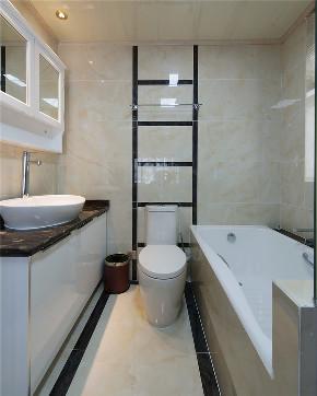 三居 旧房改造 收纳 美式 卫生间图片来自北京今朝装饰在美式一家的分享