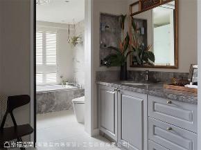 装修设计 装修完成 混搭 卫生间图片来自幸福空间在264平, 渲染独一无二的生活画布的分享
