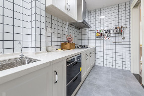 龙湖U城 装修案例 重庆装修 北欧风 厨房图片来自俏业家装饰在龙湖U城北欧风格实景装修案例的分享