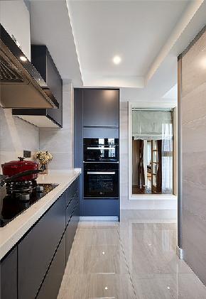 厨房图片来自家装大管家在105平美式现代3居 给人幸福舒适的分享