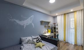 卧室图片来自家装大管家在舒适耐看 120平北欧混搭时尚3居的分享