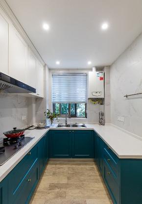 厨房图片来自家装大管家在舒适耐看 120平北欧混搭时尚3居的分享