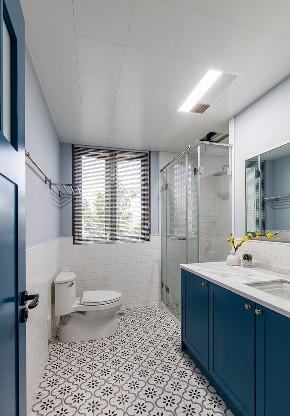 卫生间图片来自家装大管家在舒适耐看 120平北欧混搭时尚3居的分享