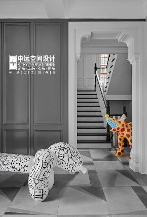 别墅 现代法式 法式 现代 申远 楼梯图片来自申远空间设计北京分公司在北京申远-现代法式风格的分享