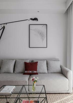欧式 北欧 隔断 半包 全案设计 软装设计 鹏友百年 客厅图片来自鹏友百年装饰在北欧三室 隔而不断客餐厅背景的分享