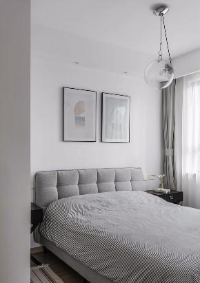 欧式 北欧 隔断 半包 全案设计 软装设计 鹏友百年 卧室图片来自鹏友百年装饰在北欧三室 隔而不断客餐厅背景的分享