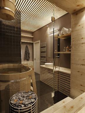 北欧 小资 80后 卫生间图片来自北京今朝装饰在北欧案例的分享
