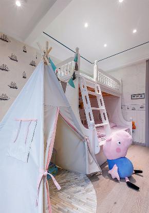 儿童房图片来自家装大管家在轻奢淡雅 127平现代雅致时尚3居的分享