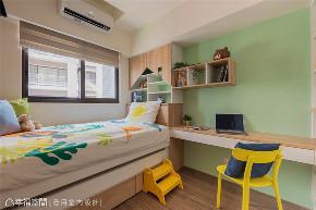 装修设计 装修完成 工业风 儿童房图片来自幸福空间在83平, 温馨的工业风个性宅的分享