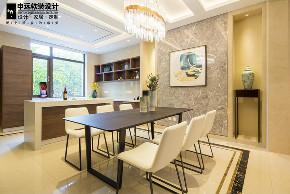 简约 三居 现代 软装 餐厅图片来自申远空间设计北京分公司在北京申远空间设计-软装实景拍摄的分享