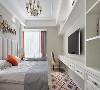 97平轻奢美式空间 精致优雅质感